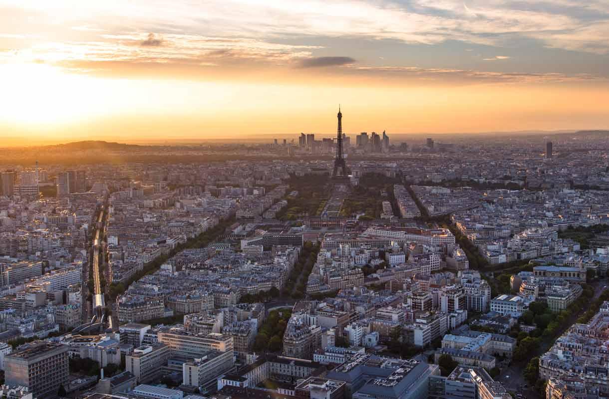 Näkymä Pariisiin