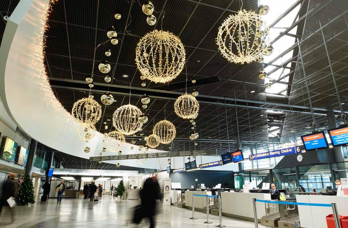Rovaniemen lentoaseman lähtöaula