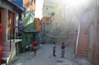 Rocinhan slummi Rio de Janeirossa