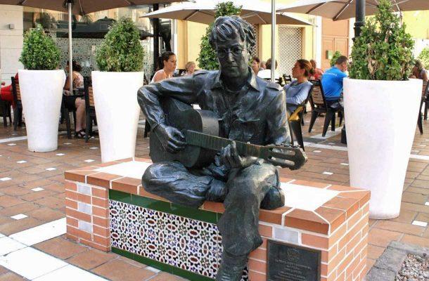 Myös John Lennon viihtyi Almeriassa