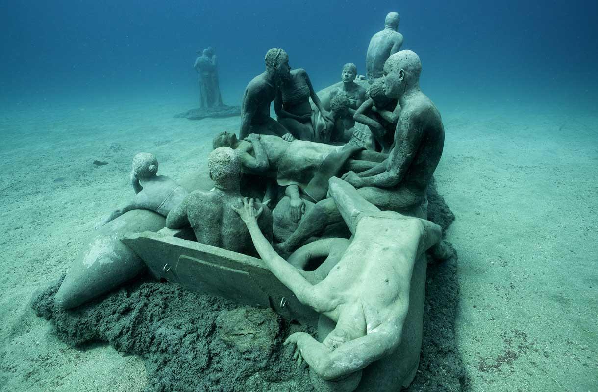 Museo Atlantico on vedenalainen museo Lanzarotella
