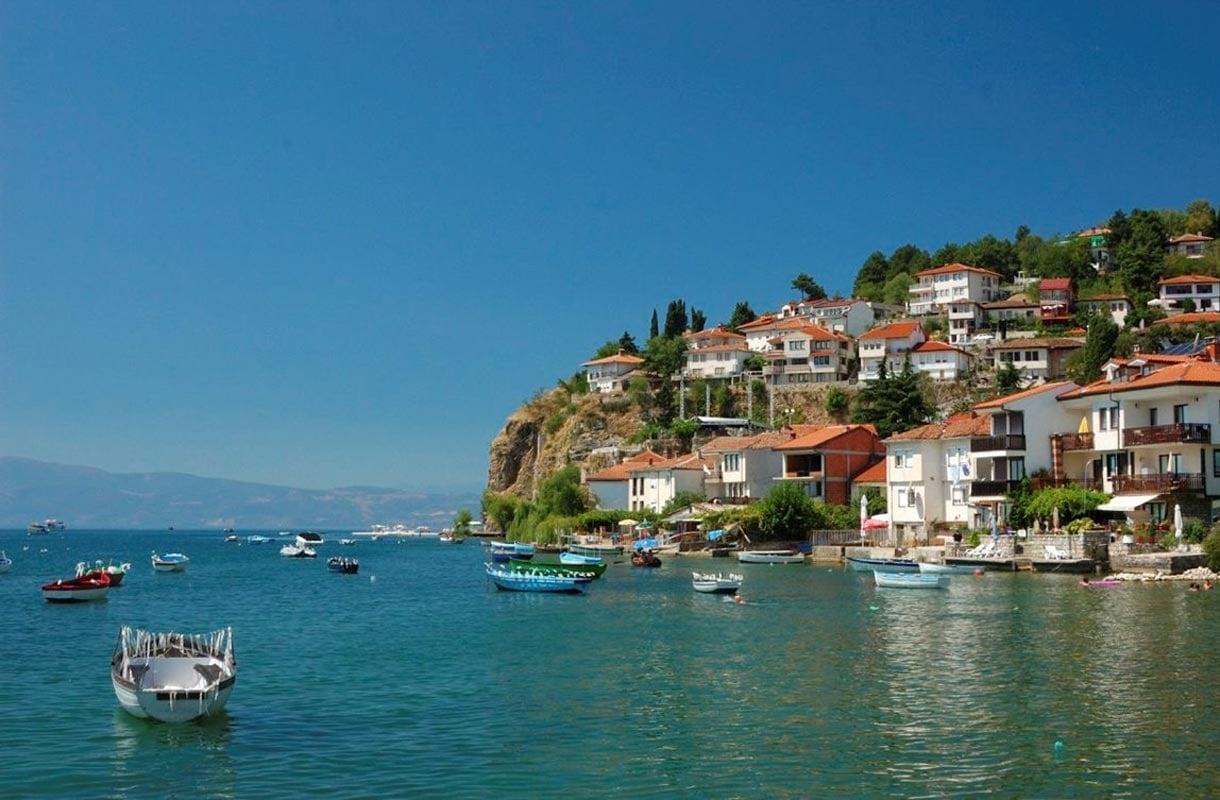 Ohrid Jarvi Makedoniassa