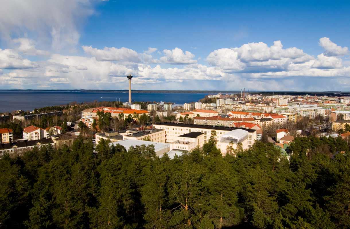 Kesäloma Tampereella