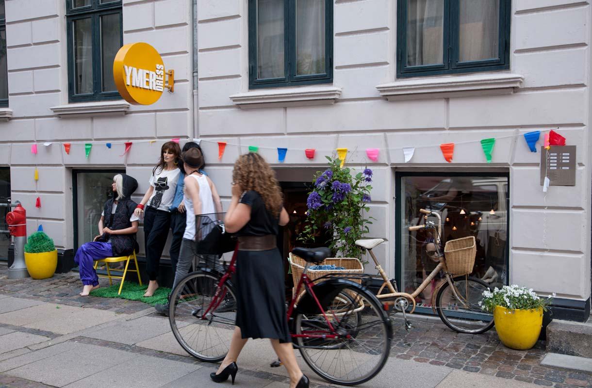 Kööpenhamina on pyöräilykaupunki.