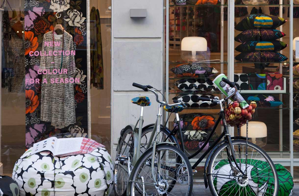 Kööpenhaminassa kuljetaan pyörillä kaikkialle