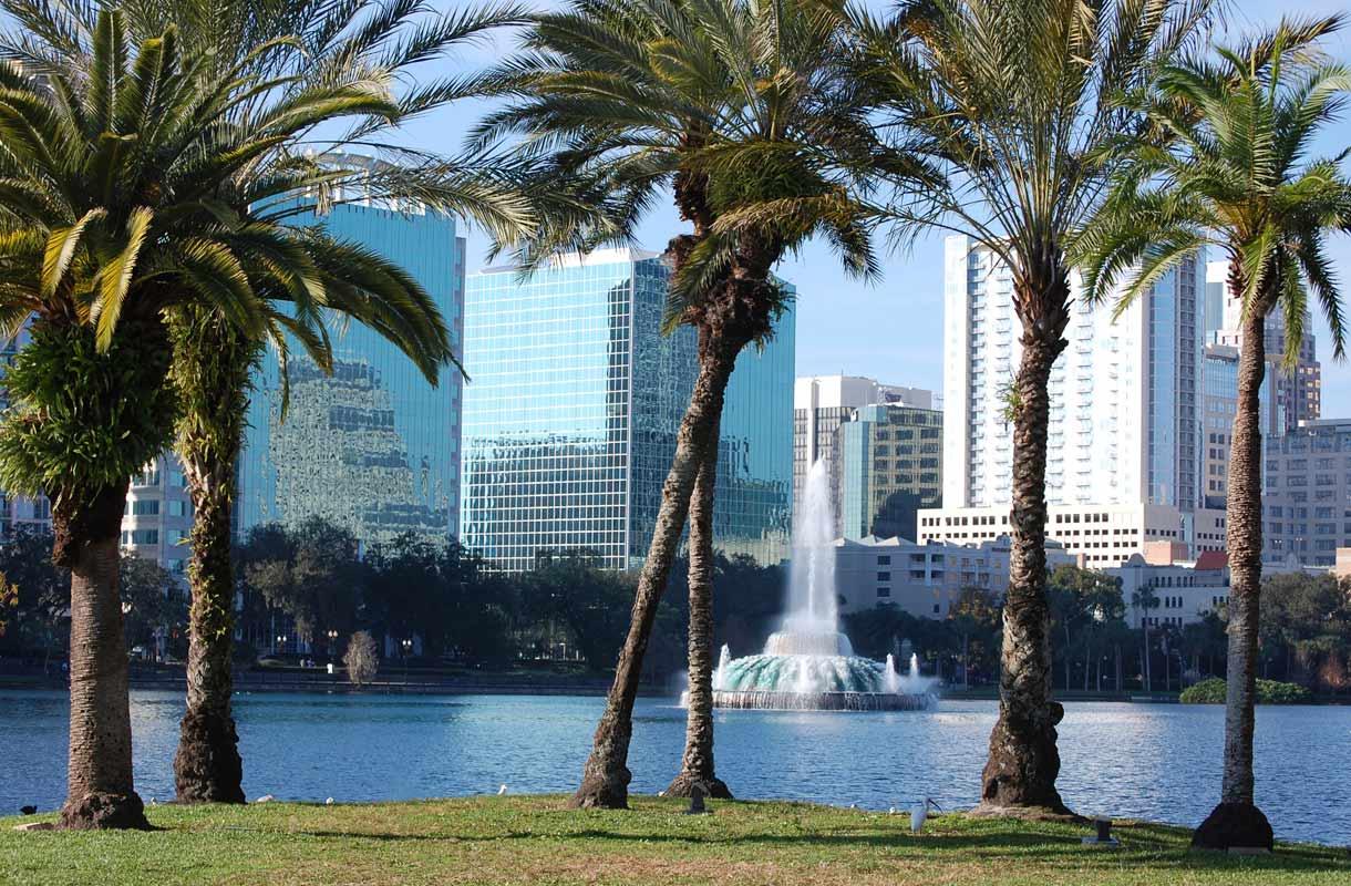 Orlandon kaupunki Floridassa