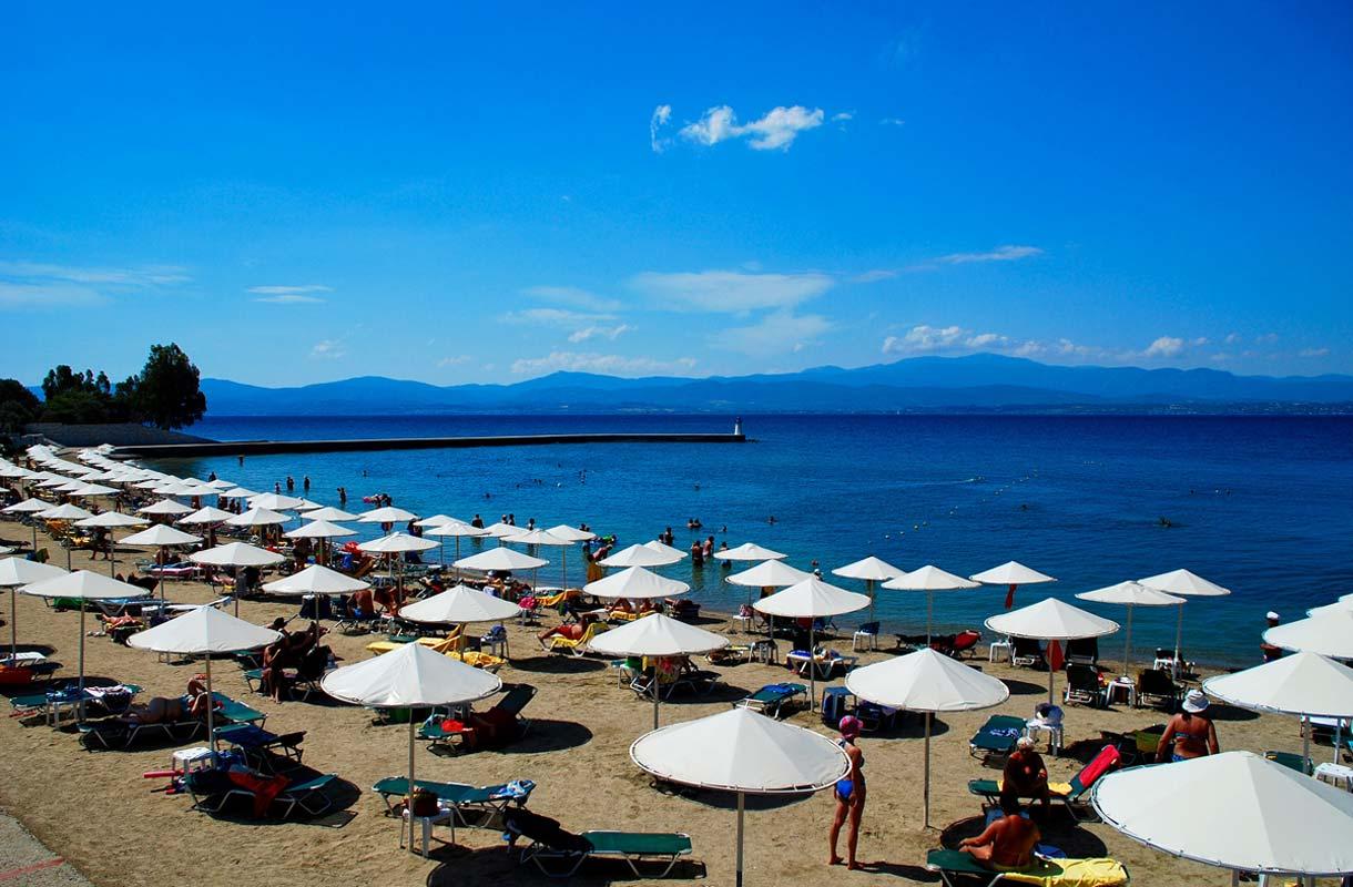 Kreikan Evia on vähemmän tunnettu lomasaari