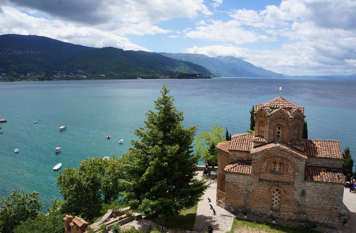 Ohridjärven vesi on uskomattoman kirkasta