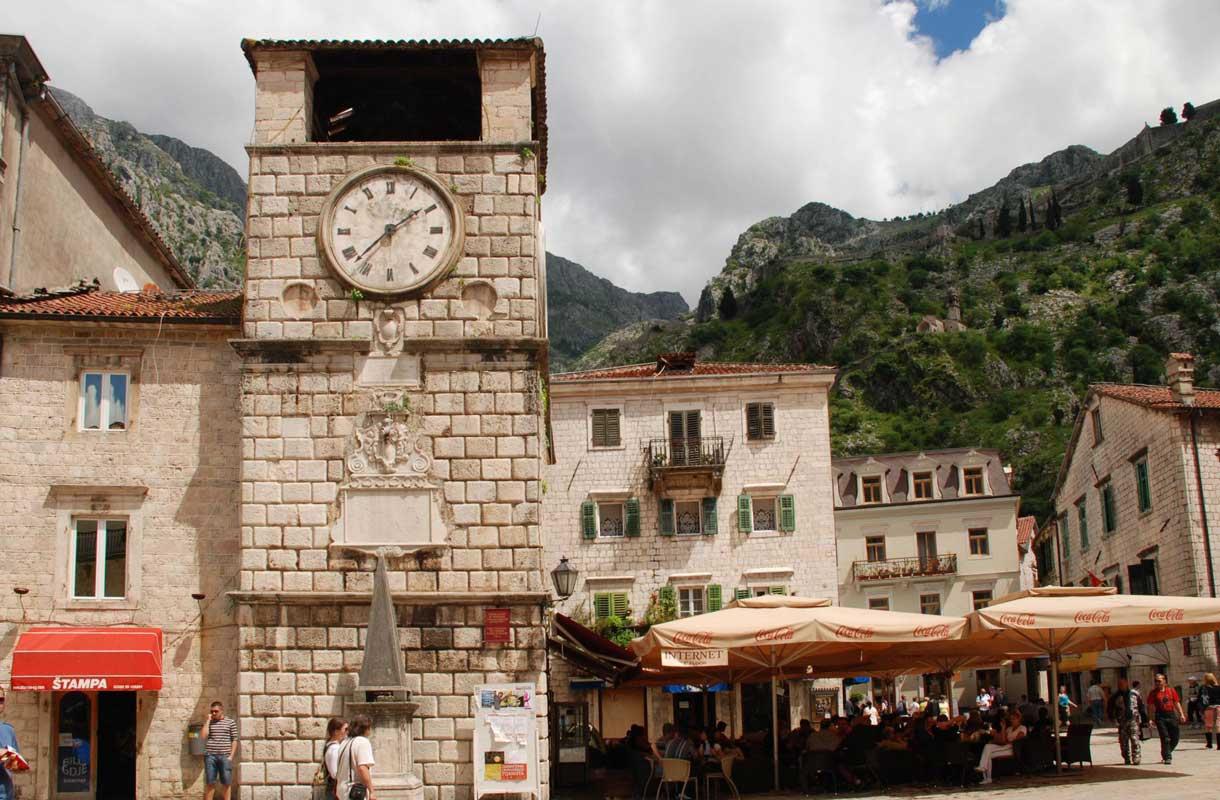 Kotorin vanhakaupunki on Unescon maailmanperintökohde.