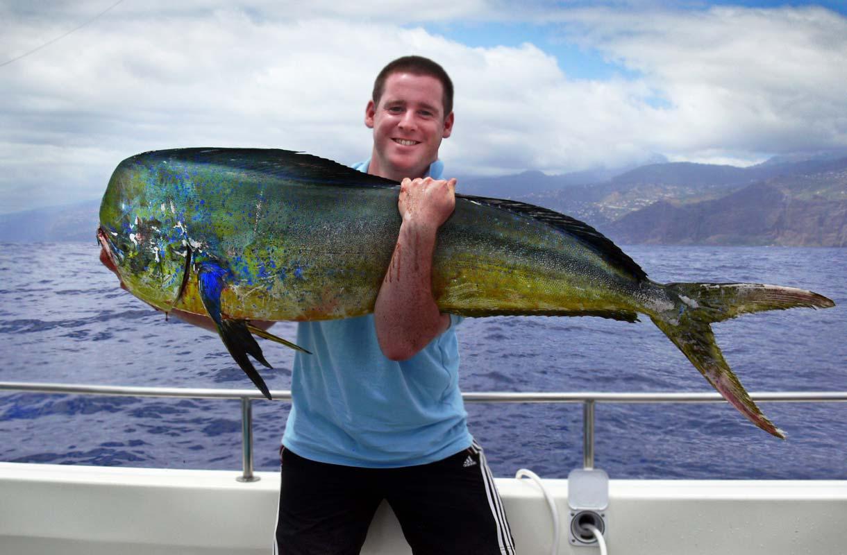 Madeiralla harrastetaan syvänmerenkalastusta.