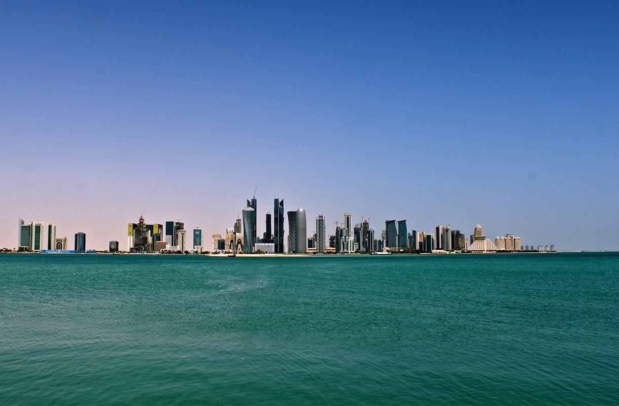 Doha on Qatarin pääkaupunki.