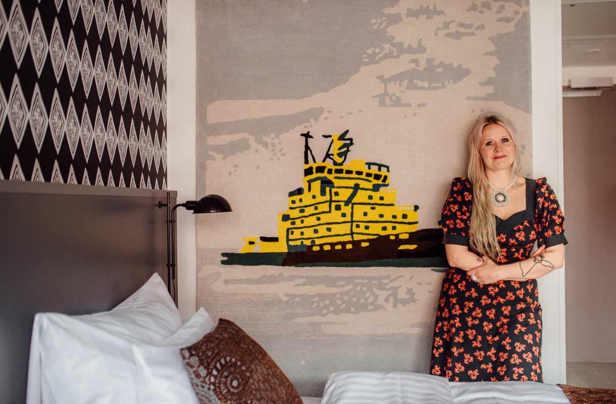 Helsingin Presidentti-hotelli uudistuu Paola Suhosen avulla