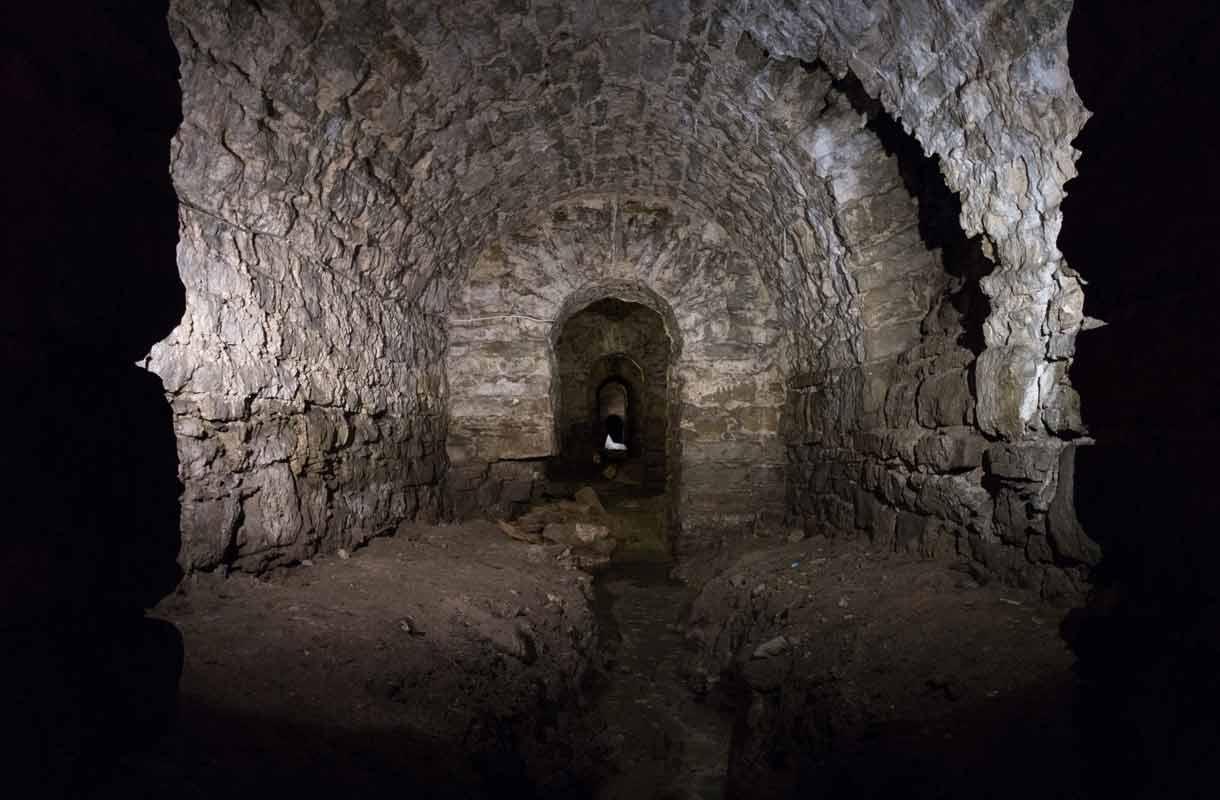 Bastionen tunnelit ovat Tallinnan vähemmän tunnettu nähtävyys.