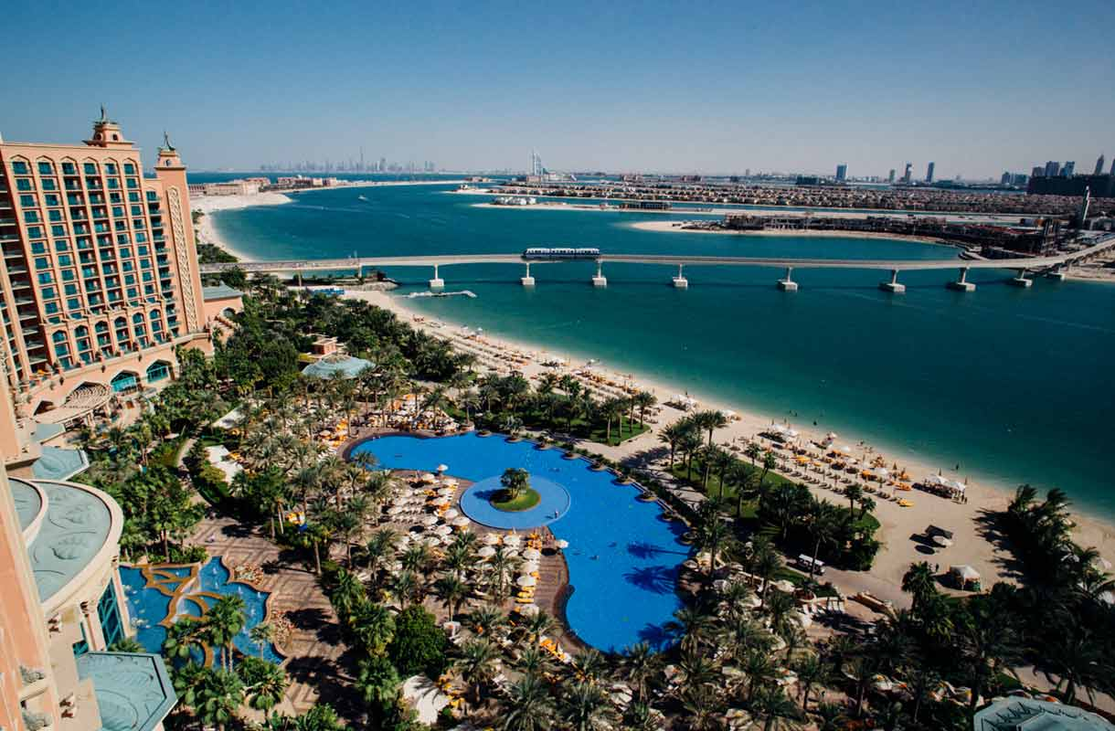 Dubai on Arabiemiraattien suurin kaupunki.