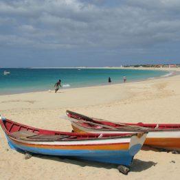 Kap Verden Salin elämänmeno on rauhallista.