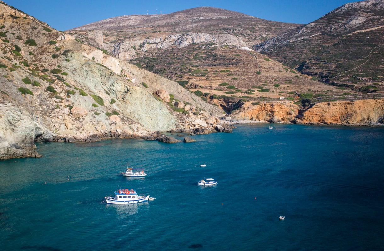 Folegandros, Kreikka