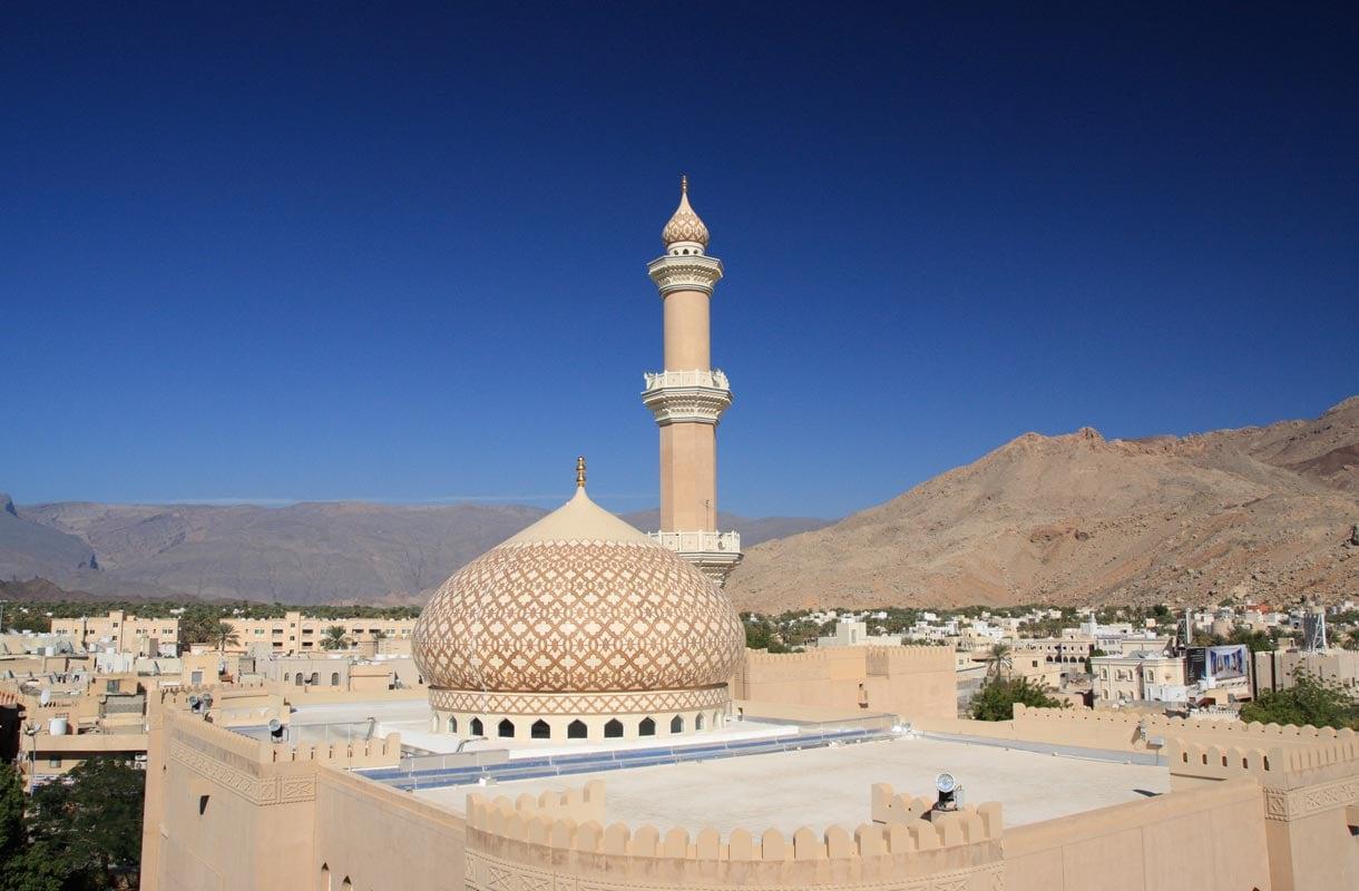 Moskeija Omanin Nizwassa.
