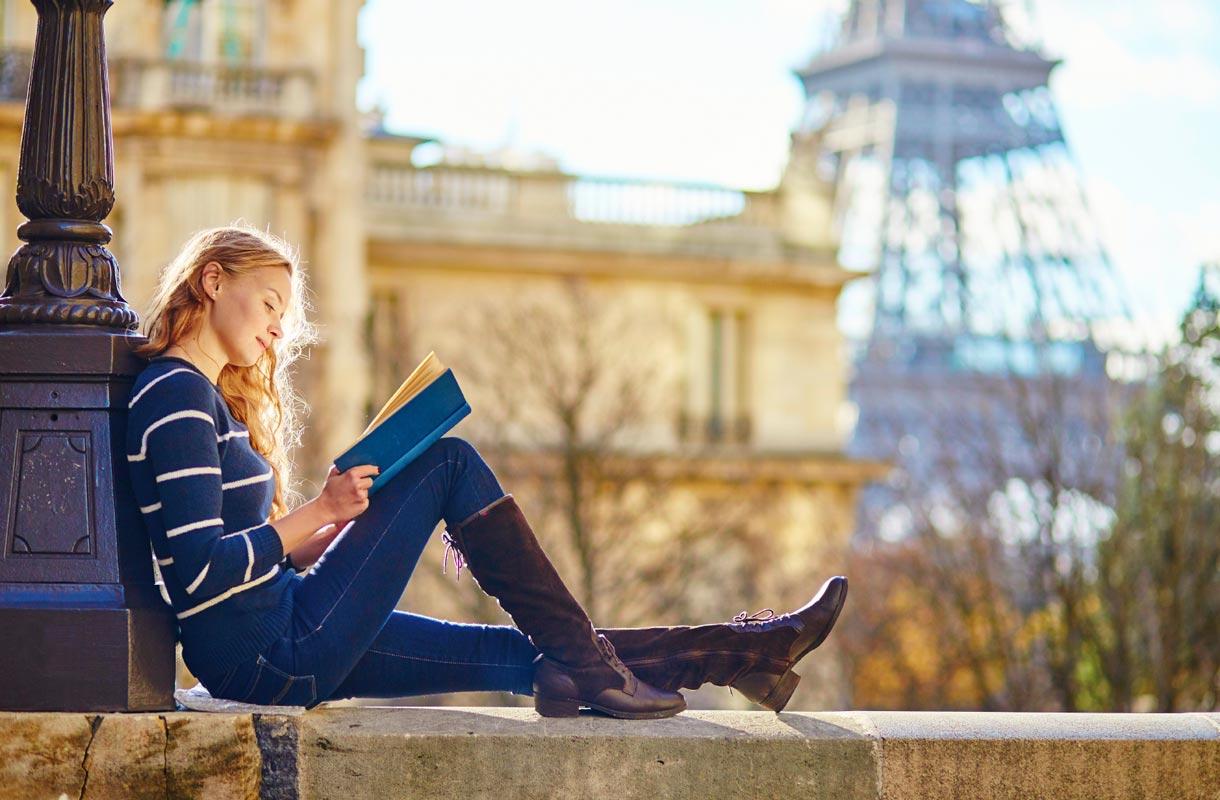 Opiskelija Pariisissa