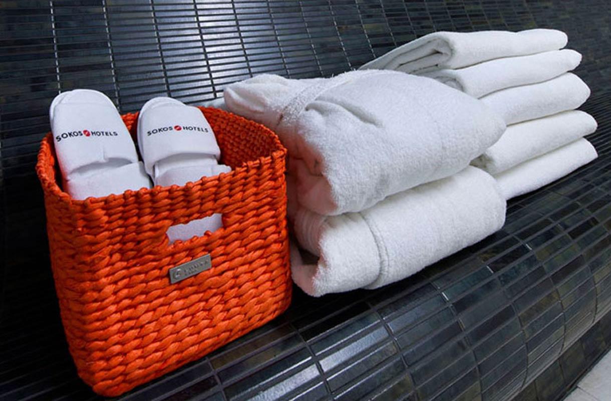 Pyyhkeet hotellissa