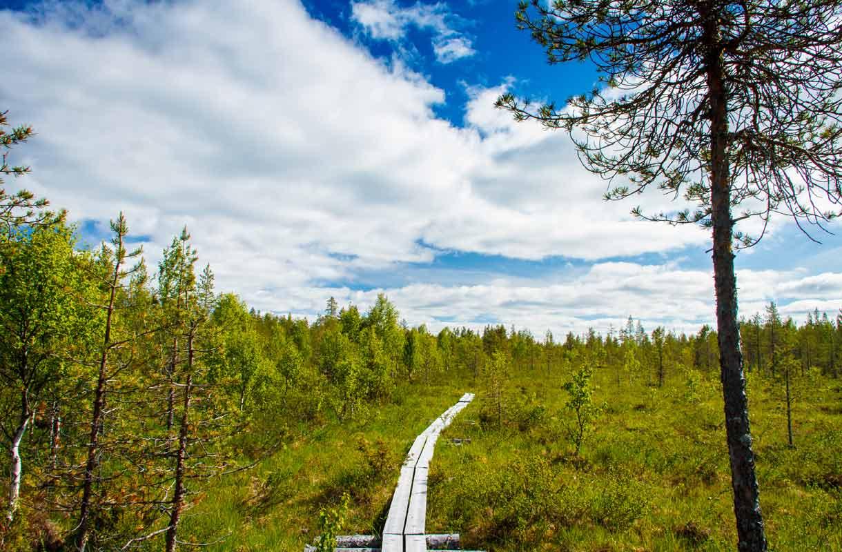 Karhunkierros, Suomi
