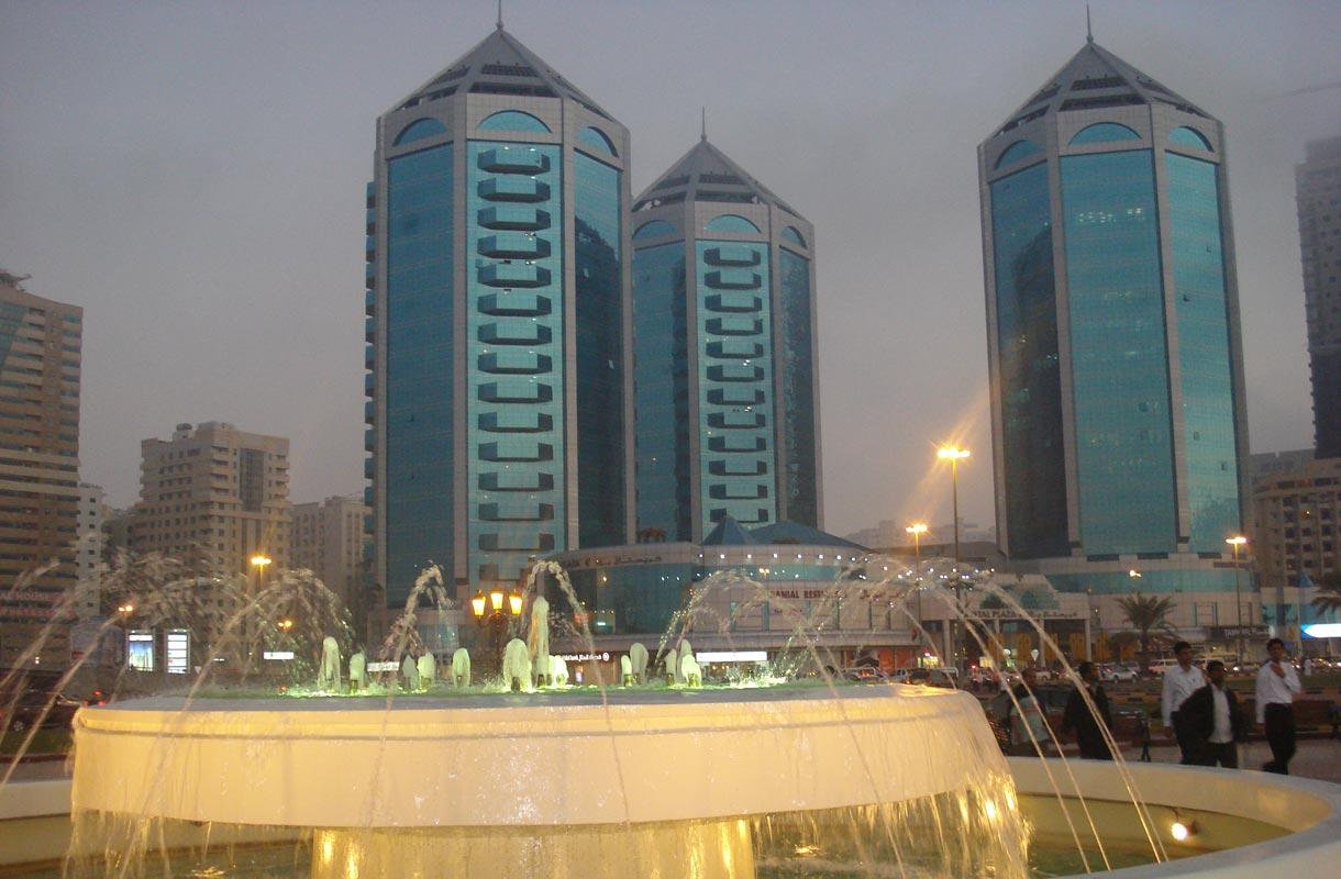 Sharjah sijaitsee aivan Dubain ostosparatiisien kupeessa.