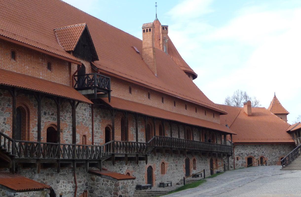 Trakain linna Liettuassa
