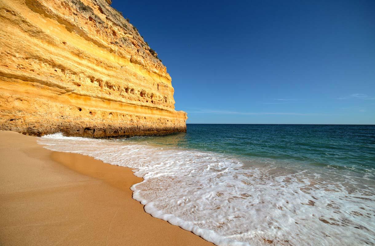 Praia da Marinhan kaunis ranta.