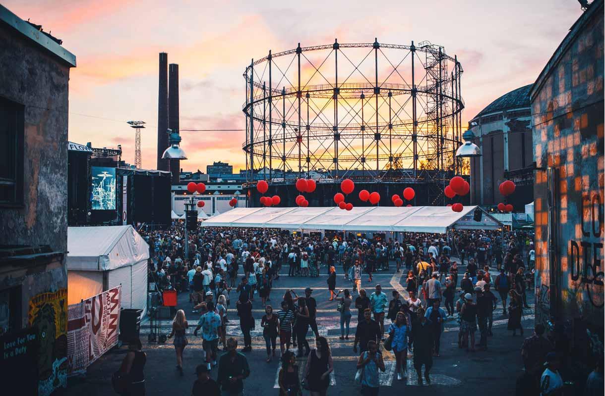 Flow Festival järjestetään elokuussa.