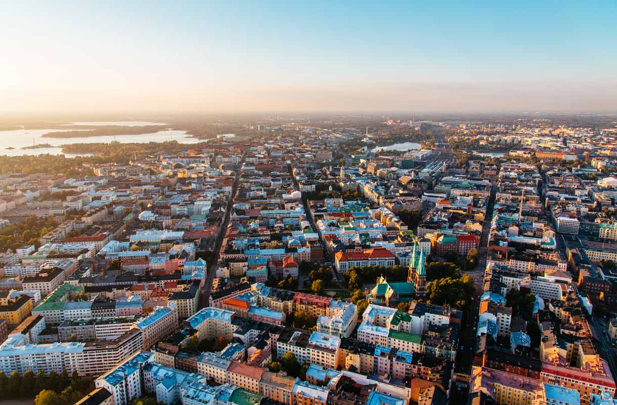 Helsinki näköalapaikat
