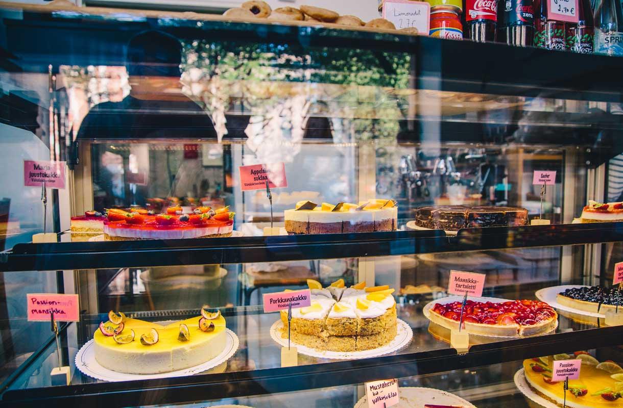 Kakkubuffetilla on liki legendaarinen maine.