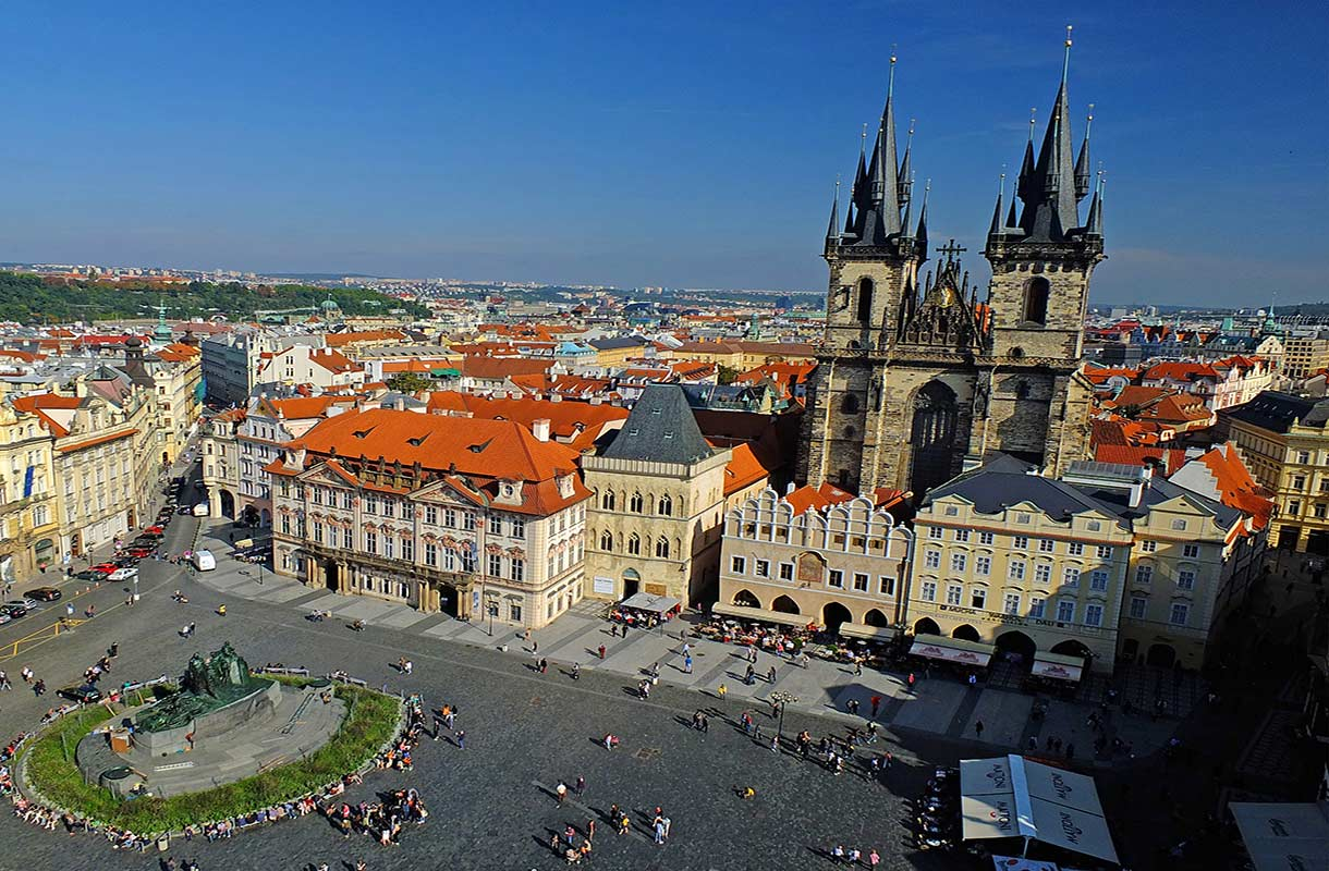 Vanhankaupungin aukio Prahassa