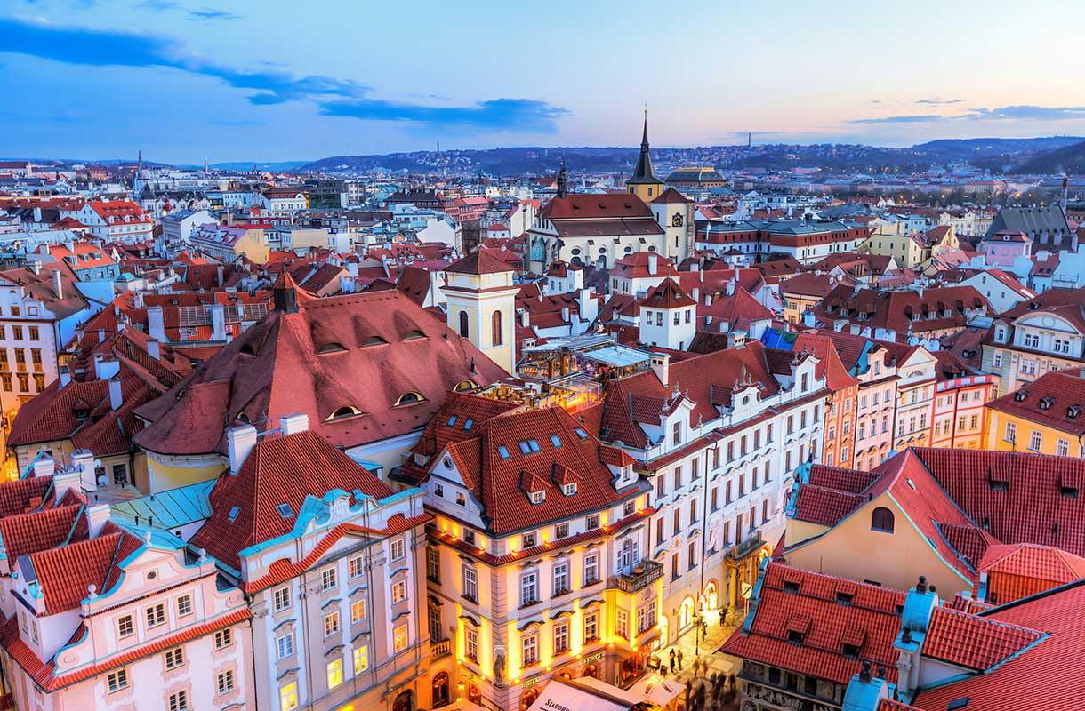Maisema Prahassa