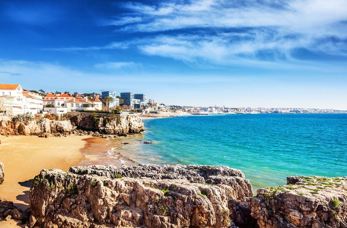 Parhaat rantakohteet Lissabonin lähellä