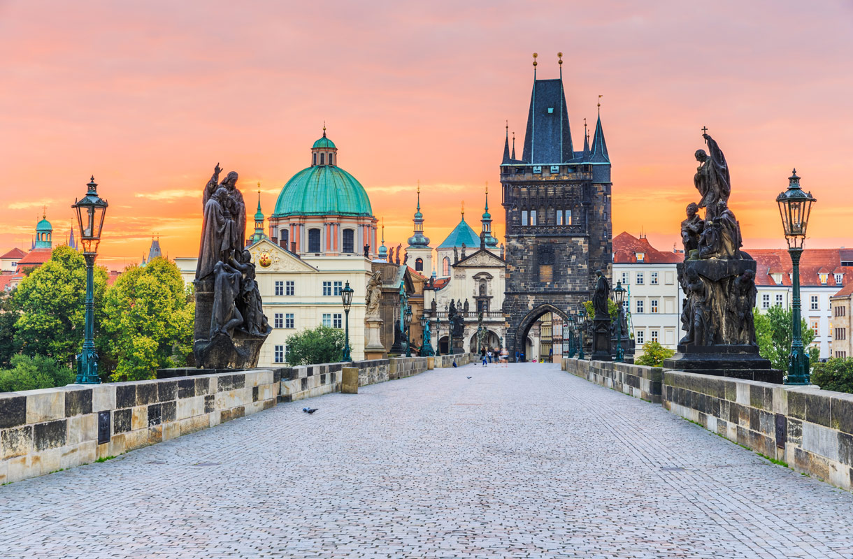 Prahan nähtävyydet