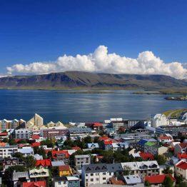Islannin pääkaupunki Reykjavik