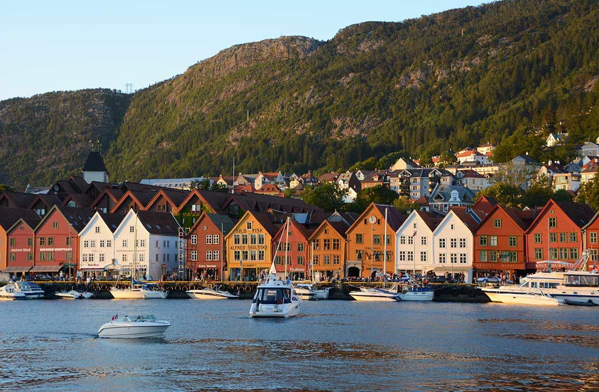 Bryggen Bergenissä