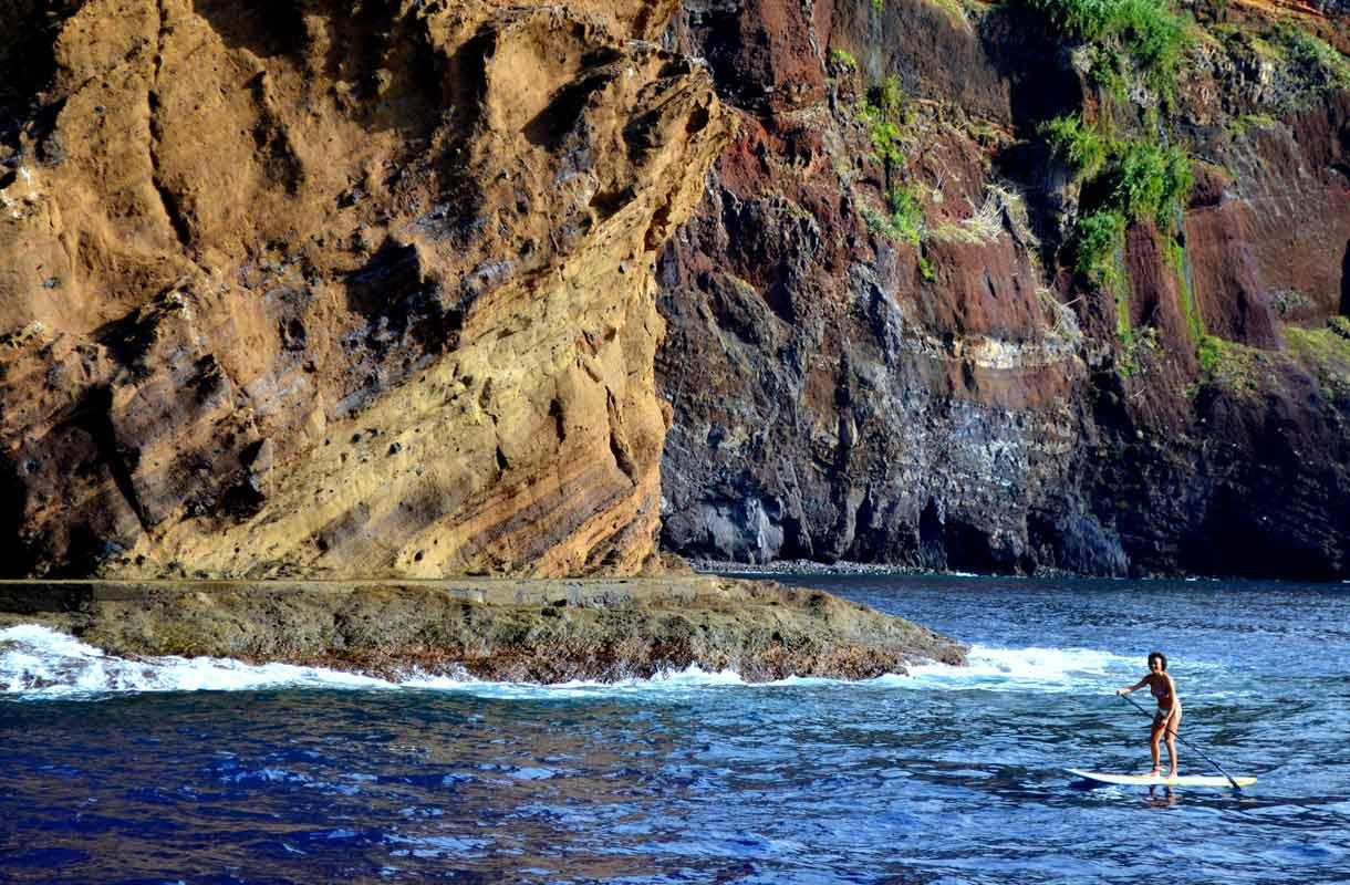 Madeiran ilmasto on leuto ympäri vuoden.