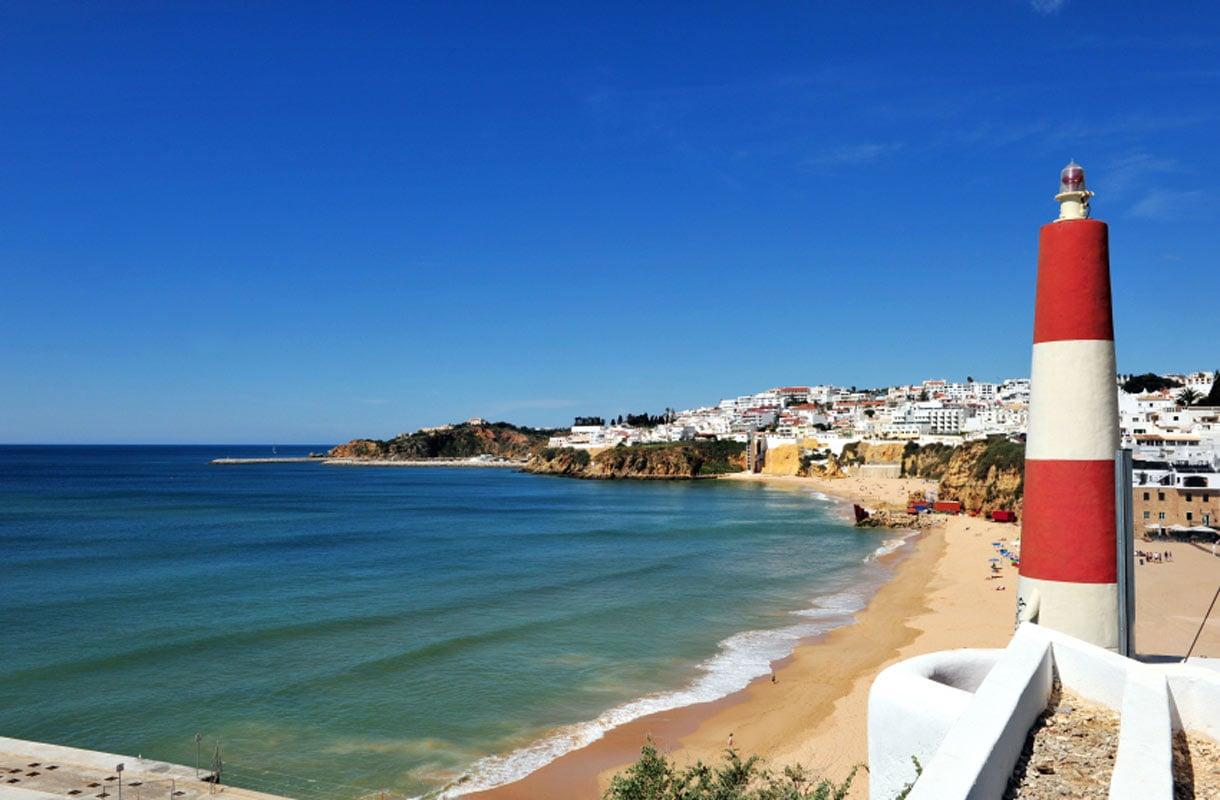 Algarven rannikko Portugalissa