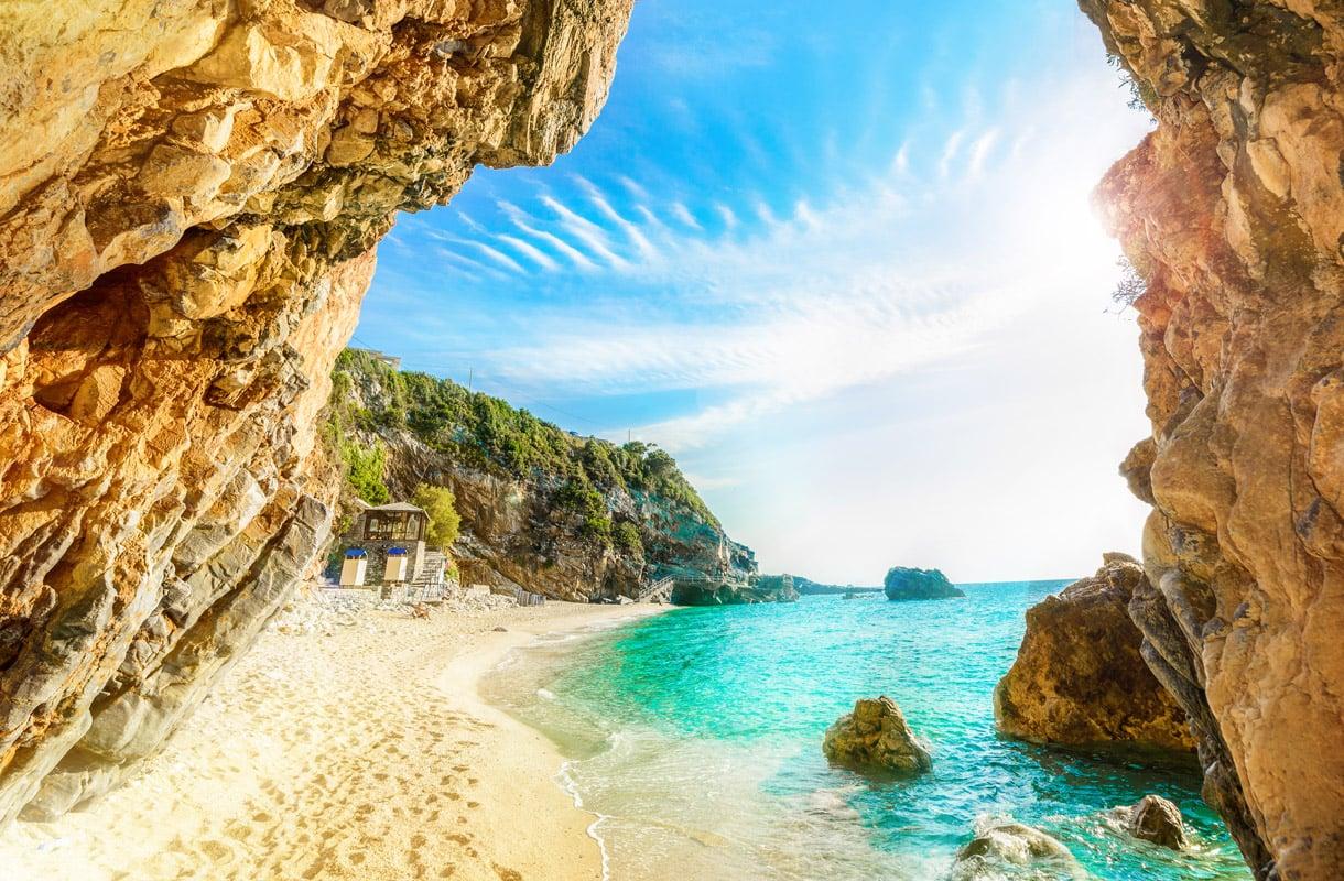 Parhaita paikkoja kytkeä pitkällä saarella
