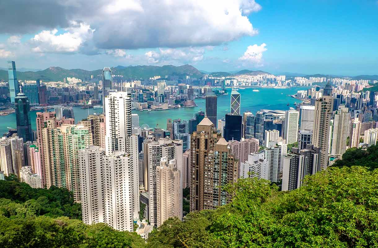Victoria Peak Hongkongissa