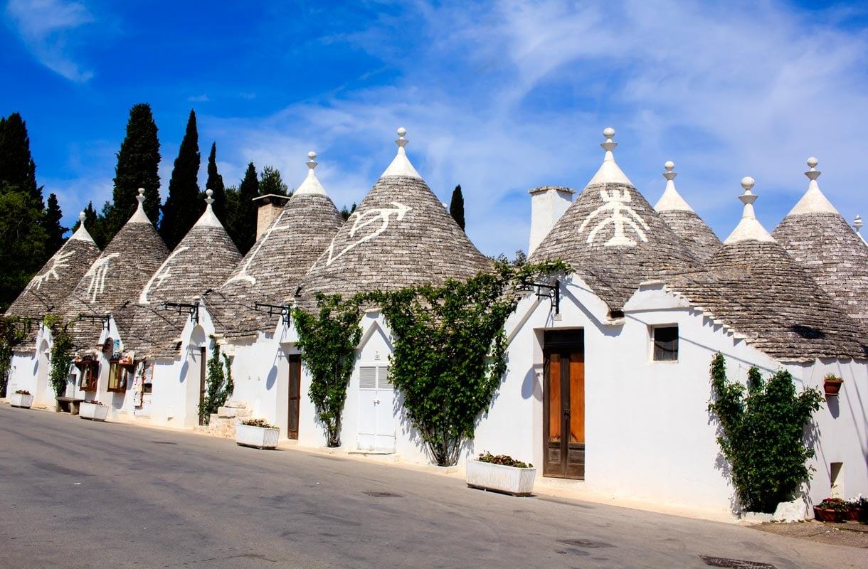 Alberobellon trullitalot Apuliassa