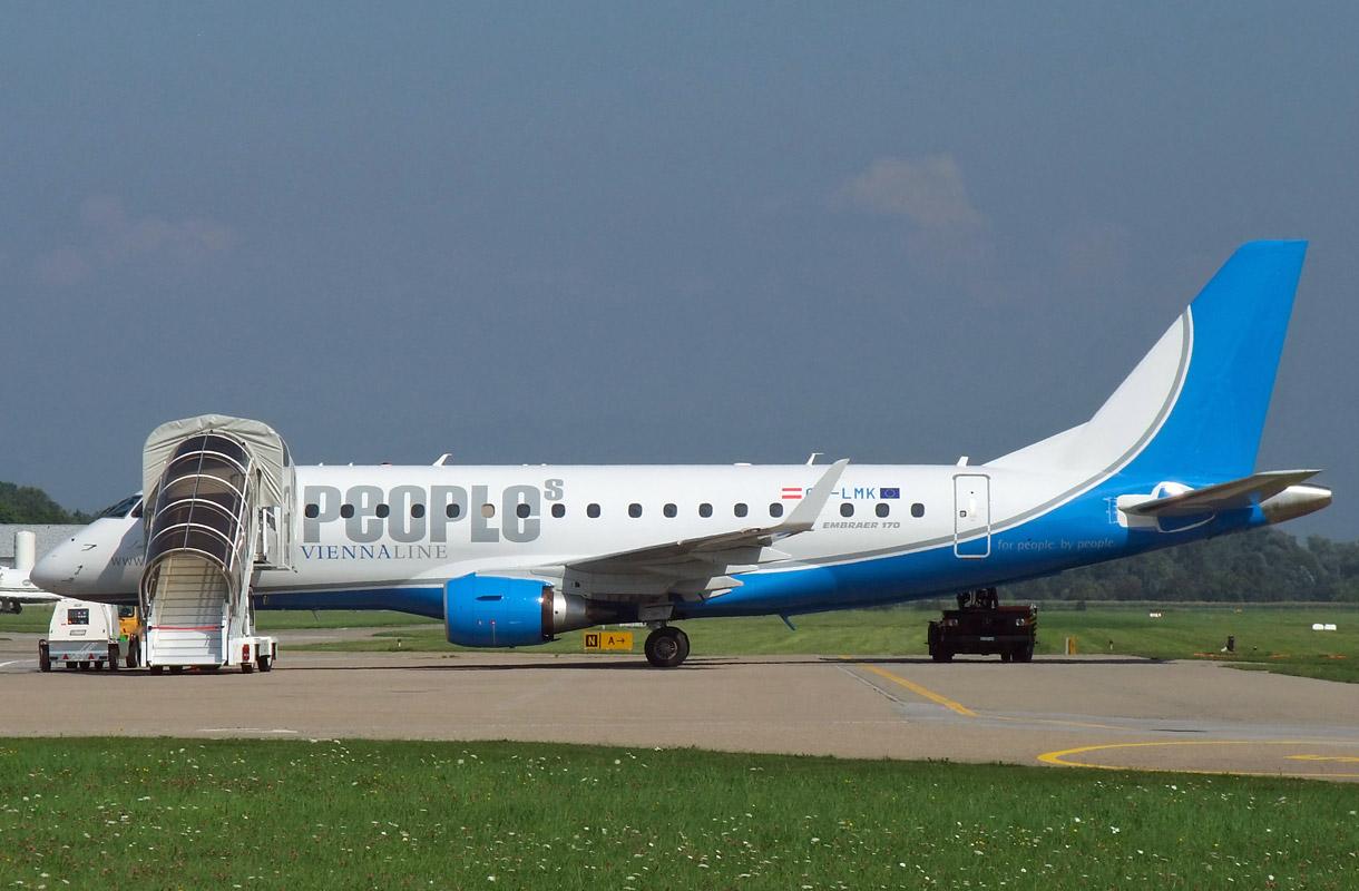 Itävaltalainen lentoyhtiö People's Viennaline