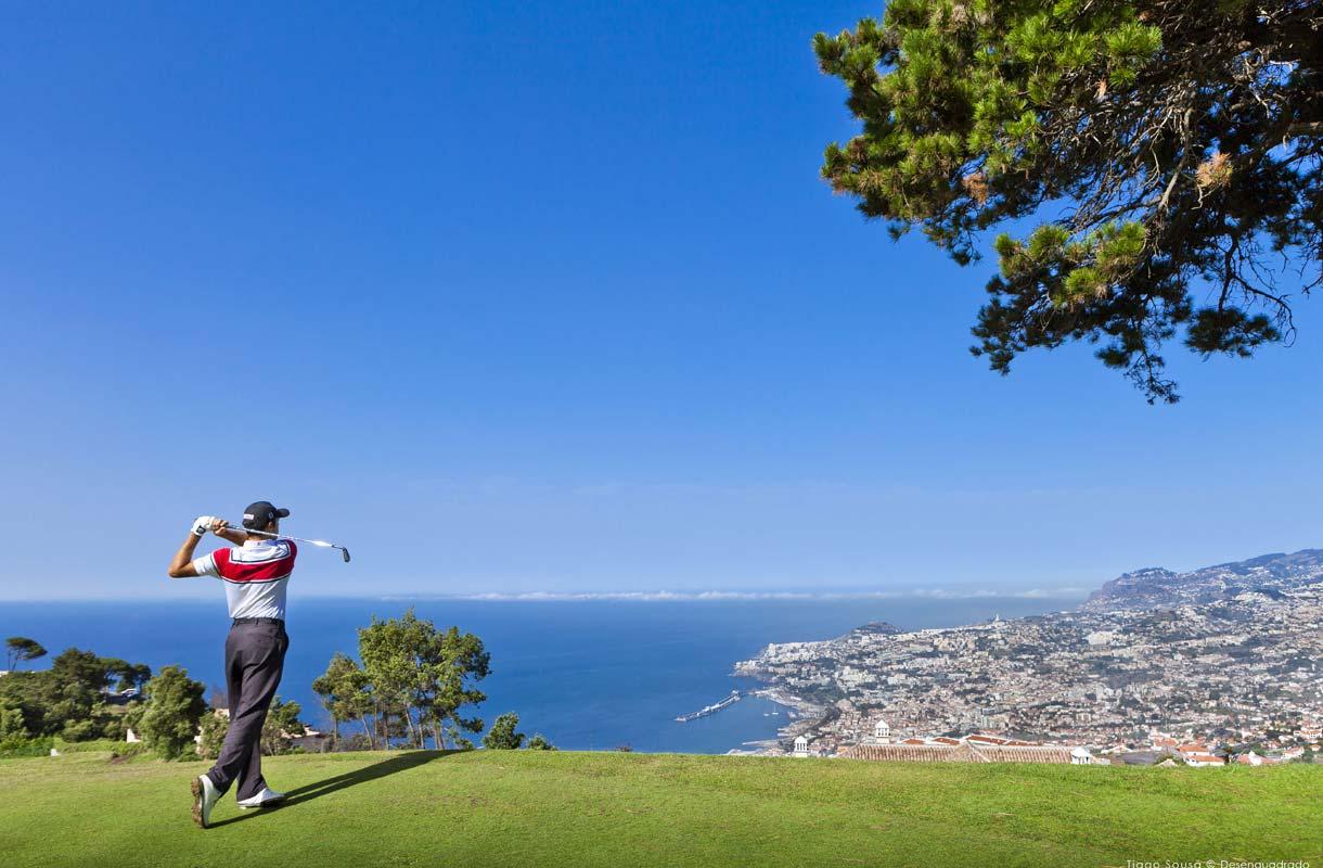 Madeiran Palheiro golf-kenttä sijaitsee lähellä Funchalia.