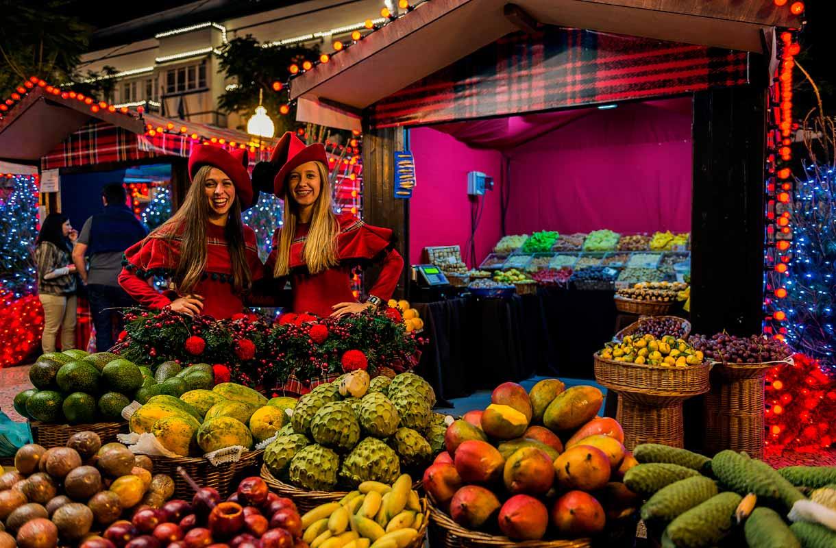Joulumarkkinat Madeiralla.