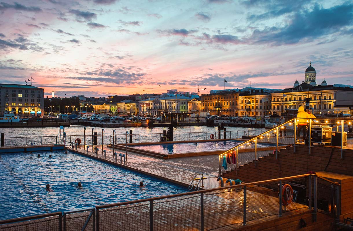 Helsingin merikylpylä Allas Sea Pool