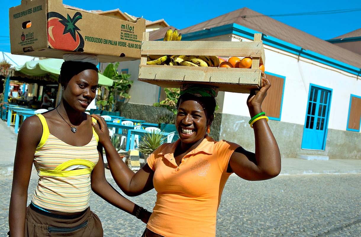 Hedelmiä Kap Verdellä