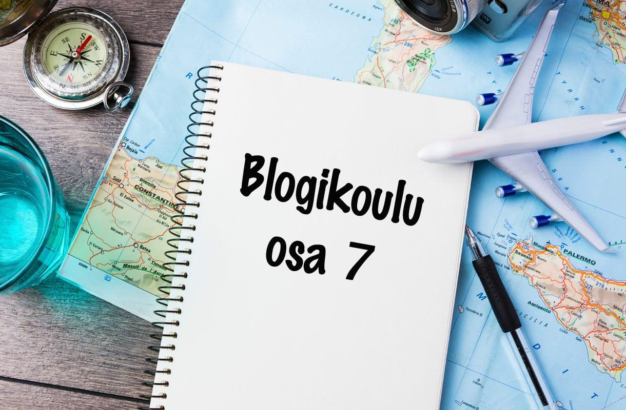 Rantapallon blogikoulu osa 7