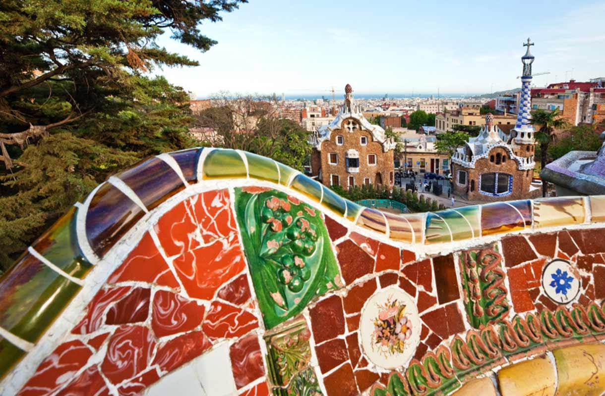 Gaudín arkkitehtuuri Barcelonassa