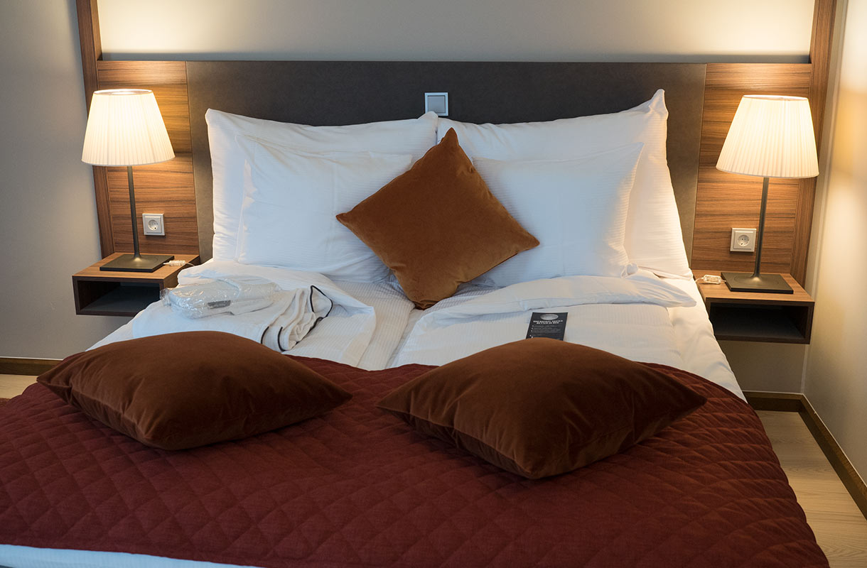 Clarion-hotellin huone