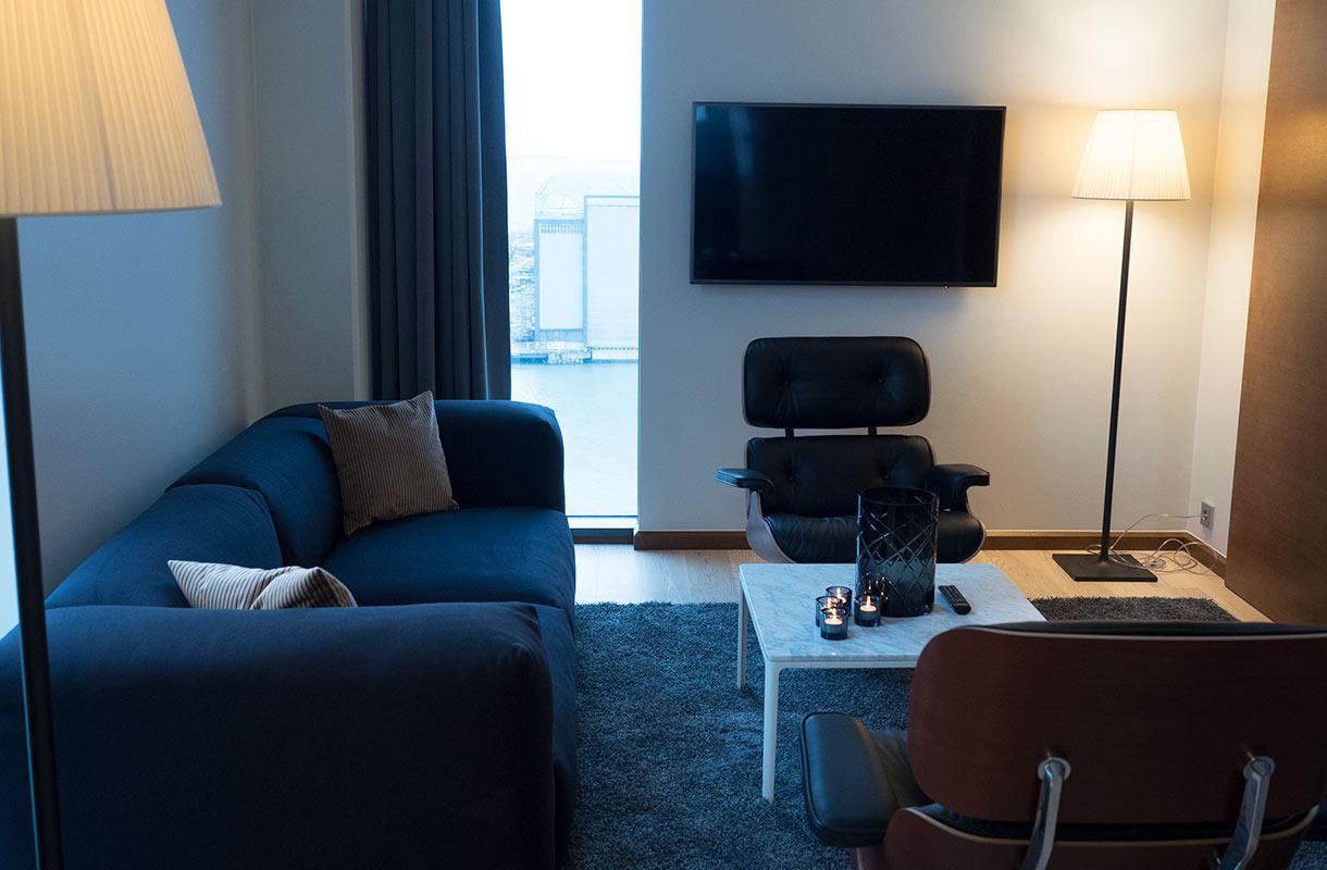 Clarion-hotellin sviitti